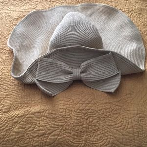 Adorable sun hat with bow
